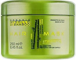 Духи, Парфюмерия, косметика Маска для волос - Imperity Organic Midollo di Bamboo Hair Mask