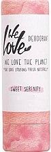 """Духи, Парфюмерия, косметика Твердый дезодорант """"Сладкая безмятежность"""" - We Love The Planet Sweet Serenity Deodorant Stick"""