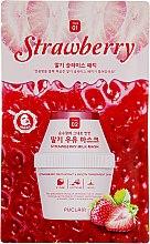 Духи, Парфюмерия, косметика Осветляющие маска и патчи для лица - Puclair Strawberry Milk Mask Pack