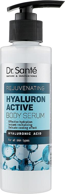 Сыворотка для тела с гиалуроновой кислотой - Dr. Sante Hyaluron Active Rejuvenating Body Serum