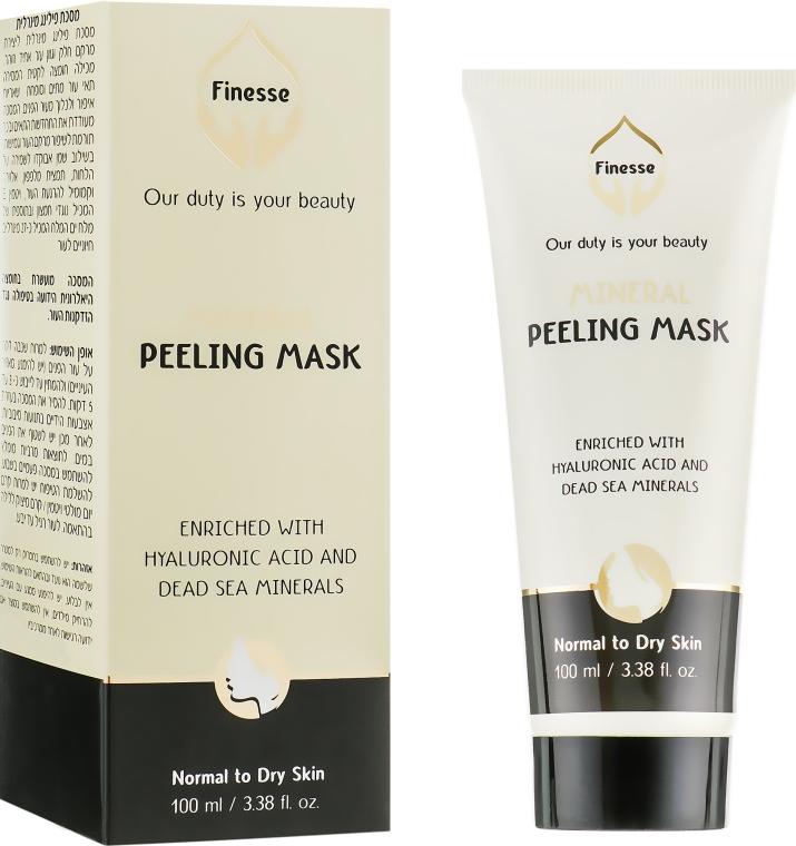Минеральный пилинг-маска - Finesse Mineral Peeling Mask