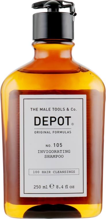 Укрепляющий шампунь против выпадения - Depot 105 Invigorating Shampoo