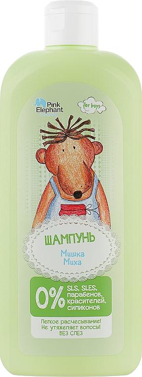 """Шампунь """"Мишка Миха"""" - Pink Elephant"""