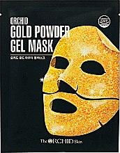 Духи, Парфюмерия, косметика Гидрогелевая маска с золотым порошком - The Orchid Skin Gold Powder Gel Mask