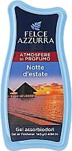 Духи, Парфюмерия, косметика Освежитель - Felce Azzurra Gel Air Freshener Notte d'estate