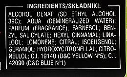 Дезодорант парфюмированный в стекле - Malizia Uomo Vetyver  — фото N3