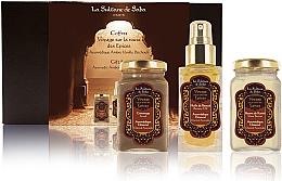 Духи, Парфюмерия, косметика La Sultane de Saba Ayurvedique Ambre Vanille Patchouli - Набор (b/oil/50ml + b/butter/100ml + b/scrub/100ml)