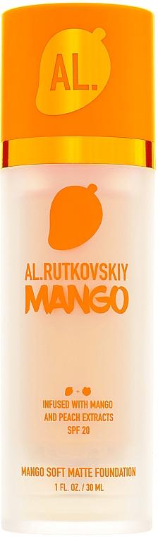 Тональная основа - Al.Rutkovskiy Mango Soft Matte Foundation