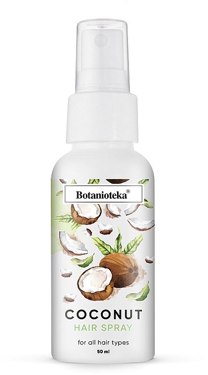 Кокосовый мультиспрей для гладкости волос - Botanioteka Hair Spray Coconut