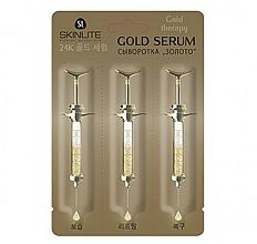 "Духи, Парфюмерия, косметика Сыворотка для лица ""Золото"" - Skinlite Gold Therapy Gold Serum"