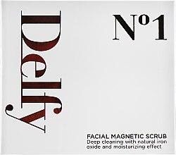 Духи, Парфюмерия, косметика Гель-скраб для лица с магнитными частицами - Delfy Facial Magnetic Scrub-N1