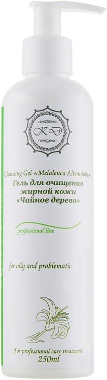 """Гель для очищения жирной кожи """"Чайное дерево"""" - KleoDerma Cleansing Gel Melaleuca Alternifolia"""