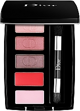 Духи, Парфюмерия, косметика Палетка для макияжа глаз и губ - Dior MIni Palette Eyes & Lips