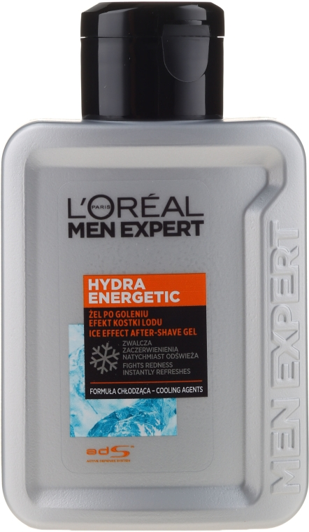 Гель после бритья - L'Oreal Paris Men Expert Hydra Energetic Post-Shave Gel Ice-Cool Soothing Effect