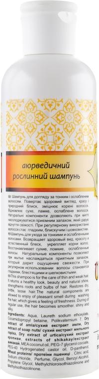 Шампунь с кондиционером на основе экстракта Шикакай и Амлы - Triuga — фото N2