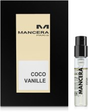 Духи, Парфюмерия, косметика Mancera Coco Vanille - Парфюмированная вода (пробник)