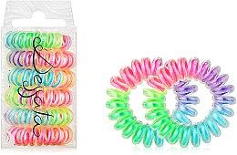 Духи, Парфюмерия, косметика Набор резинок для волос - Dessata No-Pulling Hair Ties Rainbow