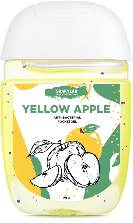 "Антибактериальный гель для рук ""Yellow apple"" - SHAKYLAB Anti-Bacterial Pocket Gel — фото N1"