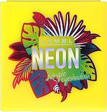 Духи, Парфюмерия, косметика Стойкие неоновые тени для век - Lamel Professional Neon Eyeshadow (тестер)