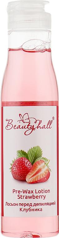 "Лосьон перед депиляцией ""Клубника"" - Beautyhall Pre-Wax Lotion Strawberry"