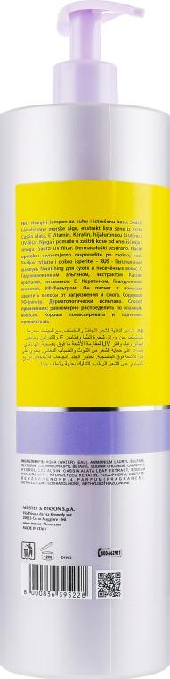 Шампунь для поврежденных волос - Dikson Keiras Urban Barrier Nourishing Shampoo — фото N4