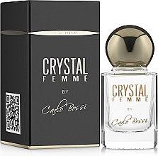 Духи, Парфюмерия, косметика Carlo Bossi Crystal Femme - Парфюмированная вода (мини)