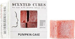 """Аромакубики """"Гарбузовий пиріг"""" - Scented Cubes Pumpkin Cake Candle — фото N1"""