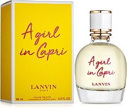 Духи, Парфюмерия, косметика Lanvin A Girl in Capri - Туалетная вода