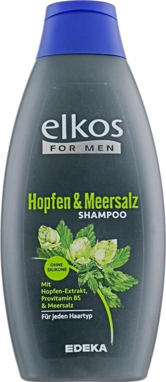 Шампунь для мужчин с хмелем - Elkos For Men Pflege Shampoo Intense