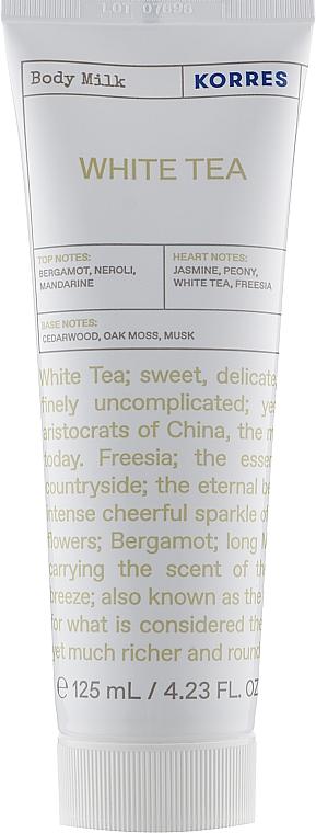 Молочко для тела - Korres Body Milk White Tea
