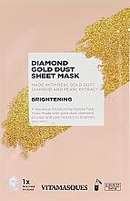 """Духи, Парфюмерия, косметика Маска для лица с частичками золота """"Diamond"""" - Vitamasques Diamond Gold Mask"""