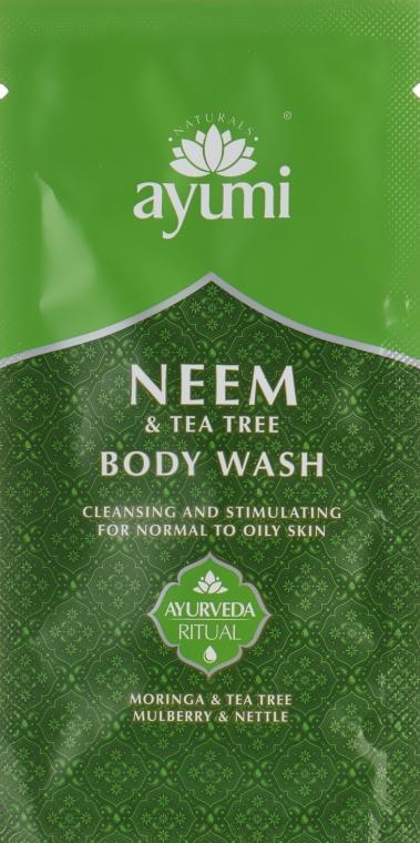 Гель для душа - Ayumi Neem & Tea Tree Body Wash (пробник)
