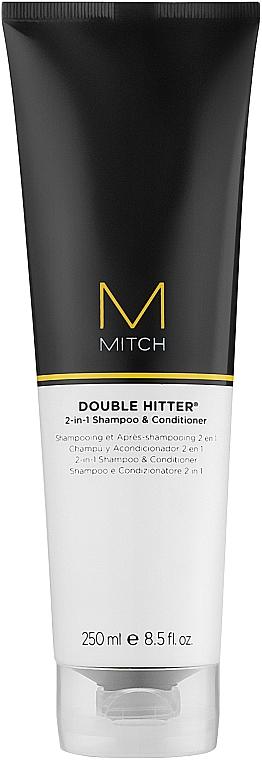 Шампунь и кондиционер 2 в 1 - Paul Mitchell Mitch Double Hitter 2 in 1 Shampoo & Conditioner