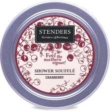 "Духи, Парфюмерия, косметика Суфле для душа ""Клюква"" - Stenders Cranberry Shower Souffle"