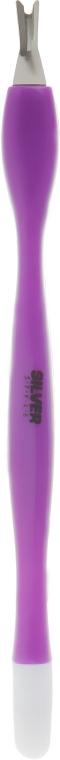 Триммер для кутикулы ST-06/1, фиолетовый, 11см - Silver Style