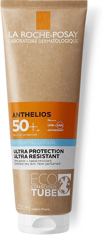 Солнцезащитный увлажняющий ультрастойкий лосьон для кожи лица и тела, SPF50+ - La Roche-Posay Anthelios Hydrating Lotion SPF50+