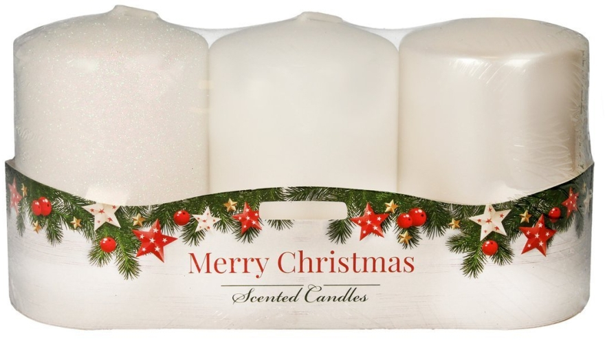 "Набор ароматических свечей - Artman ""Merry Christmas"" (candle/3 x 22g)"