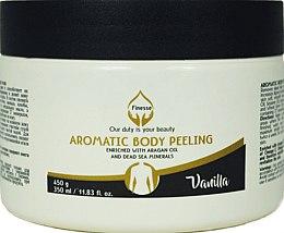 "Духи, Парфюмерия, косметика Ароматичиский пилинг дла тела ""Ваниль"" - Finesse Aromatic Body Peeling Vanilla"