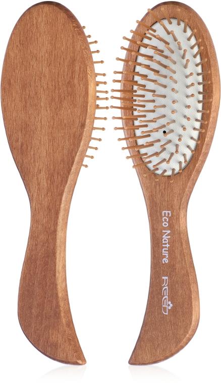 Расческа деревянная, 7166 - Reed Eco Nature
