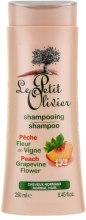 Духи, Парфюмерия, косметика Шампунь для нормальных волос - Le Petit Olivier Peach Grapevine Flower Shampoo