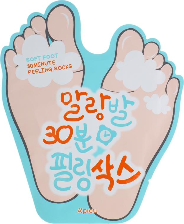 Пилинг-носочки - A'pieu Soft Foot Peeling Socks