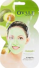 Духи, Парфюмерия, косметика Маска с экстрактом авокадо и витаминами C и E - Ovale Avocado Face Mask
