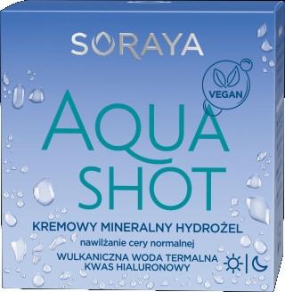 Минеральный гидрогель для нормальной кожи - Soraya Aquashot