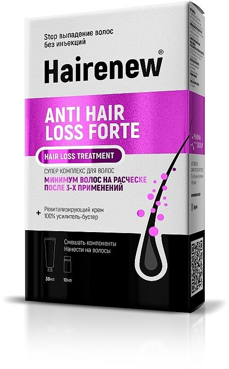 """Инновационный комплекс для волос """"Против выпадения волос форте"""" - Hairenew Anti Hair Loss Forte Treatment"""