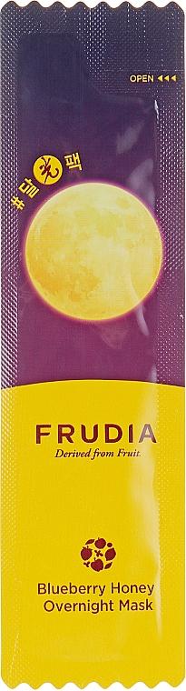 Питательная ночная маска с черникой и медом - Frudia Blueberry Honey Overnight Mask
