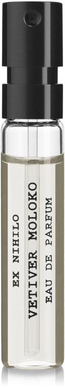 Ex Nihilo Vetiver Moloko - Парфюмированная вода (пробник)
