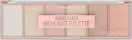 Парфумерія, косметика Палітра хайлайтерів - Ruby Rose Angel Flash Highlight Palette