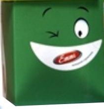 "Духи, Парфюмерия, косметика Салфетки косметические ""Smile"", зеленая коробка - Mirus Emmi"