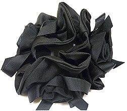 Духи, Парфюмерия, косметика Резинка для волос P16937-1, 11 см d-5,5 см, черная - Akcent