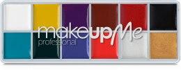 Духи, Парфюмерия, косметика Профессиональная палитра грима 12 оттенков, GRS12 - Make Up Me